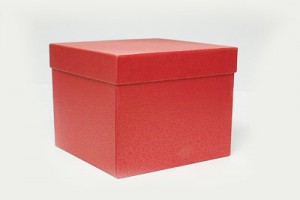 TOP & BOTTOM GIFT BOX – RED Colour