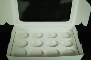 CUP CAKE BOX 12′S