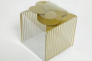 1 CAVITY CUP CAKE BOX