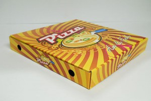 PIZZA BOX WITH DESIGN