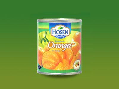 HOSEN- MANDARIN ORANGE