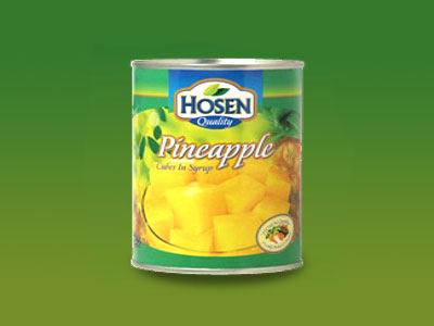 HOSEN- PINEAPPLE CUBES