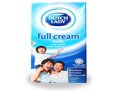 DUTCH LADY FULL CREAM MILK