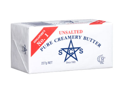 SCS UNSALTED BUTTER